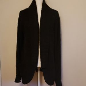 NWT Black Sweater Cardi